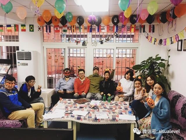 Happy Halloween-川外国际高中万圣节主题活动